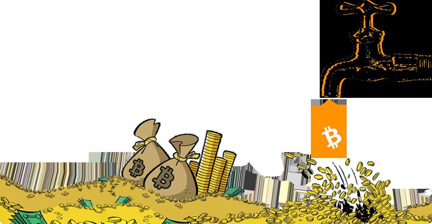 Получение биткоинов на сайтах - кранах